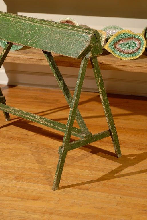 20th C Painted Saddle Rack Saw Horse 3