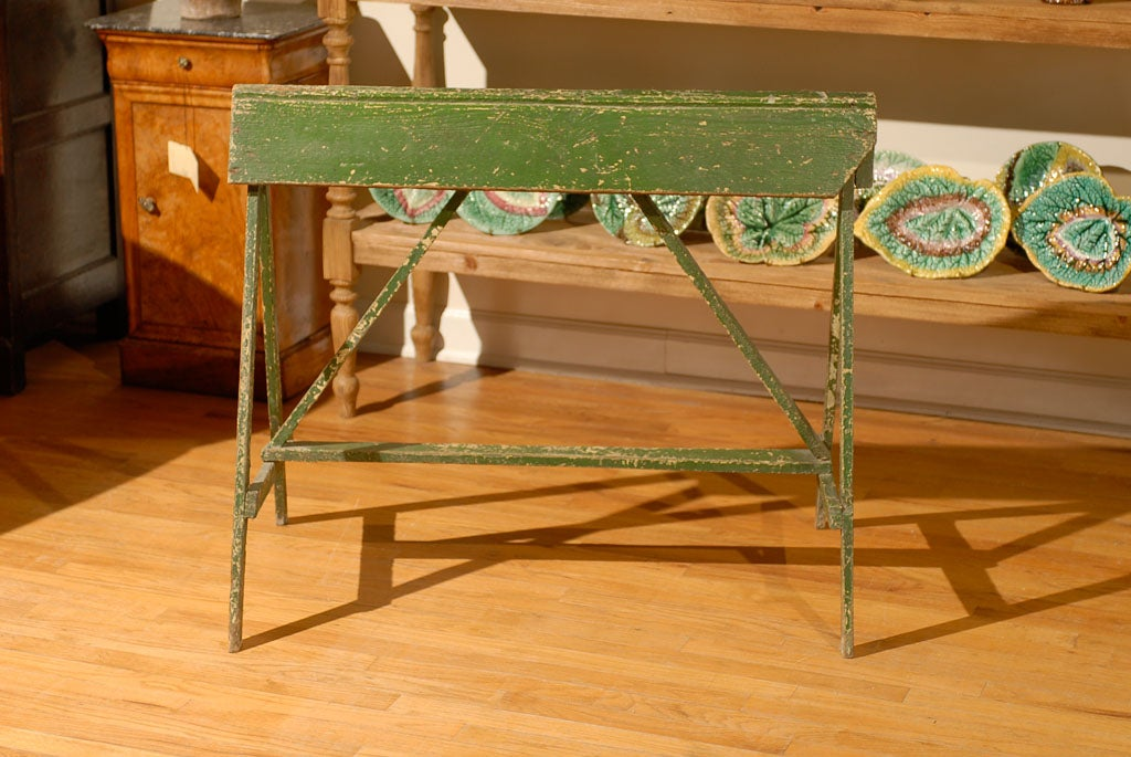 20th C Painted Saddle Rack Saw Horse 5