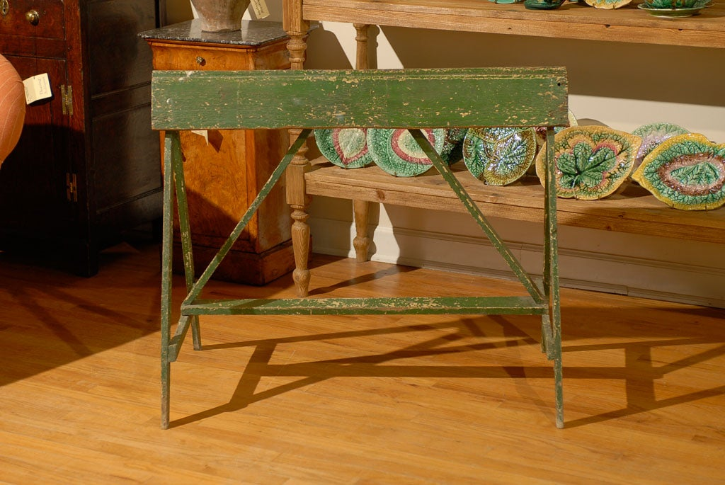 20th C Painted Saddle Rack Saw Horse 7