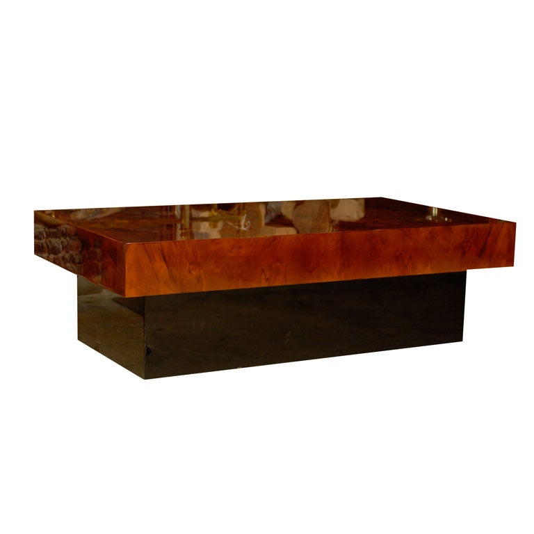 Mid-Century Low Coffee Table At 1stdibs