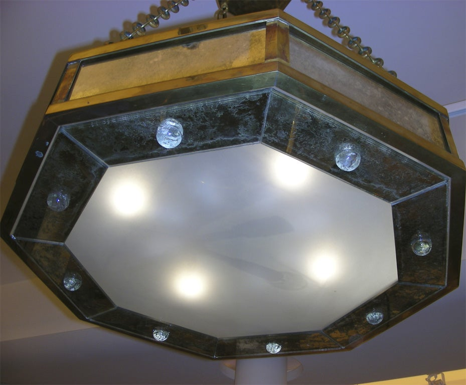 Pair of Contemporary Chandeliers by André Hayat For Sale 2