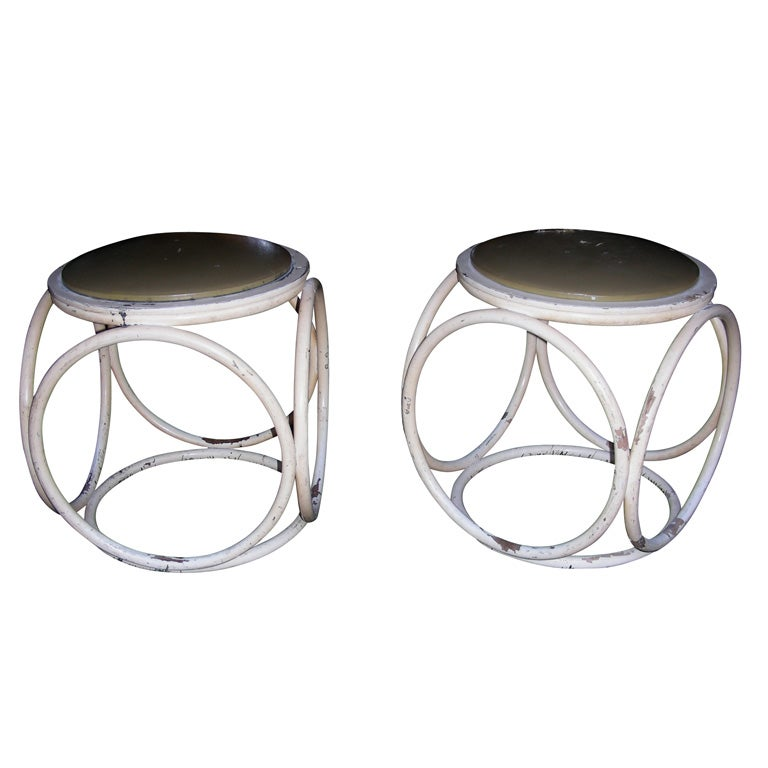 Two 1930s Stools By Thonet At 1stdibs