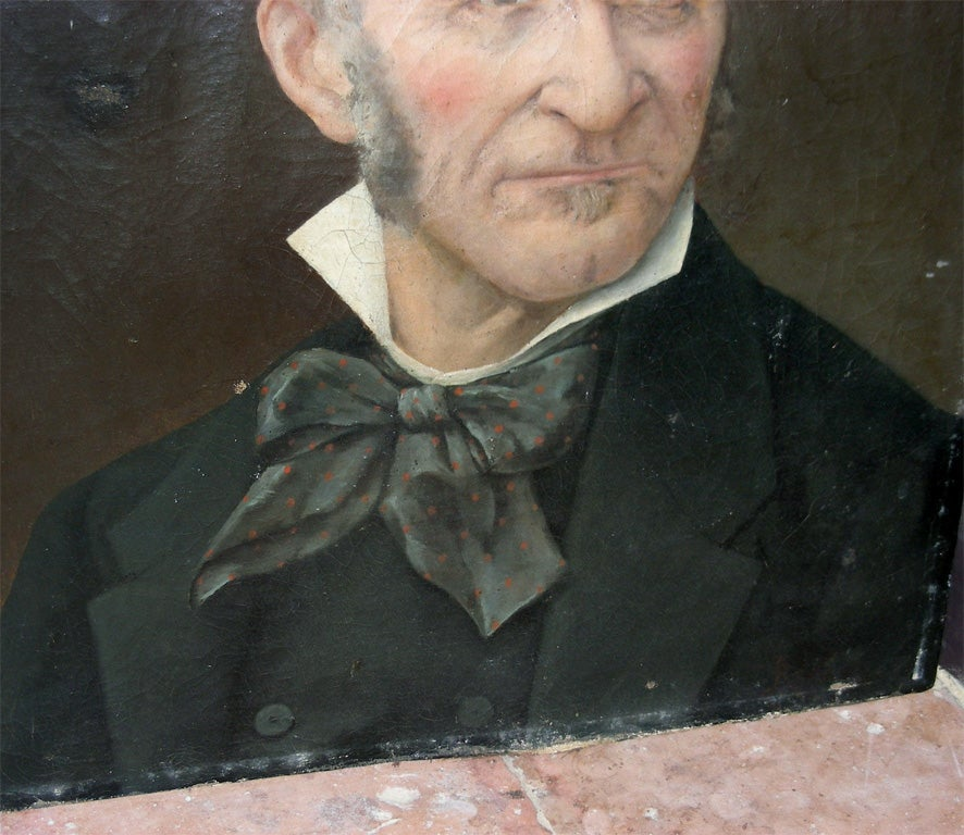 End of 19th Century Portrait of a Man For Sale 1