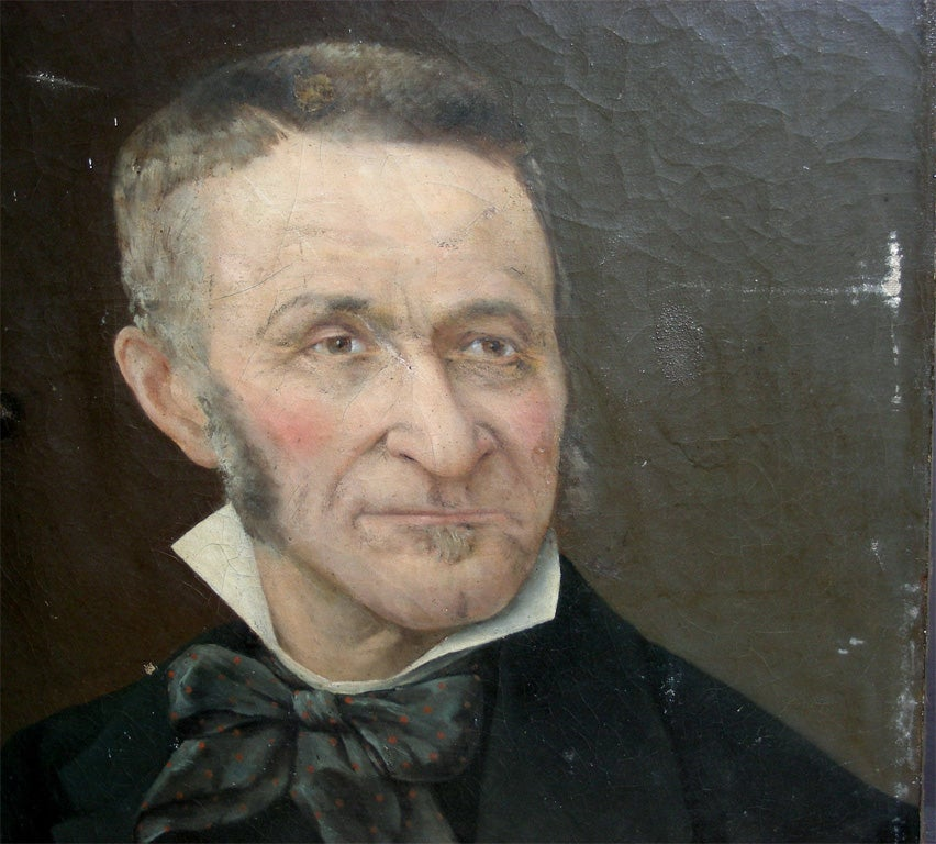 End of 19th Century Portrait of a Man For Sale 2