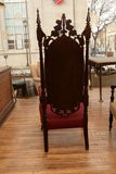 Gothic Revival Tall Chairs image 2