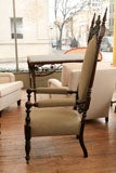 Gothic Revival Tall Chairs image 3