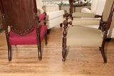 Gothic Revival Tall Chairs image 4