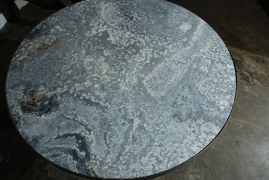 Zinc Top Coffee Table image 5