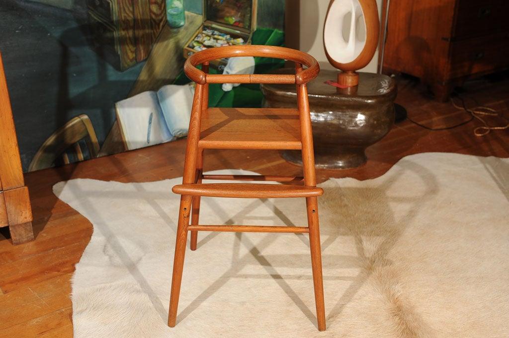 20th Century Danish Modern Teak Child's Chair