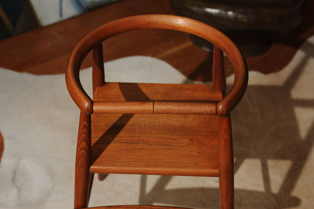 Danish Modern Teak Child's Chair 1