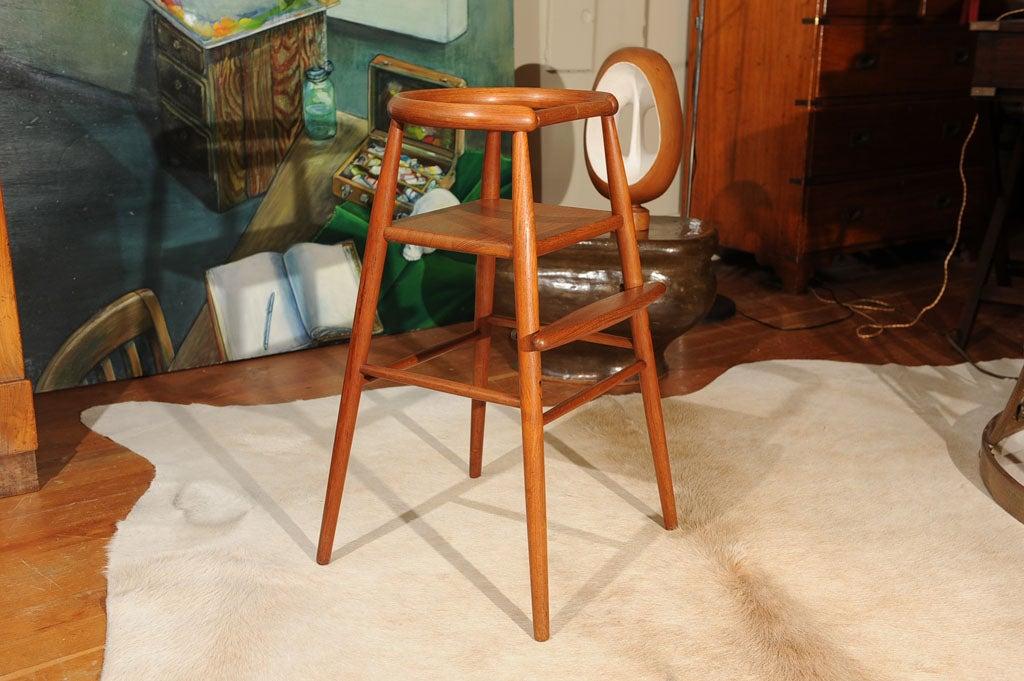 Danish Modern Teak Child's Chair 2