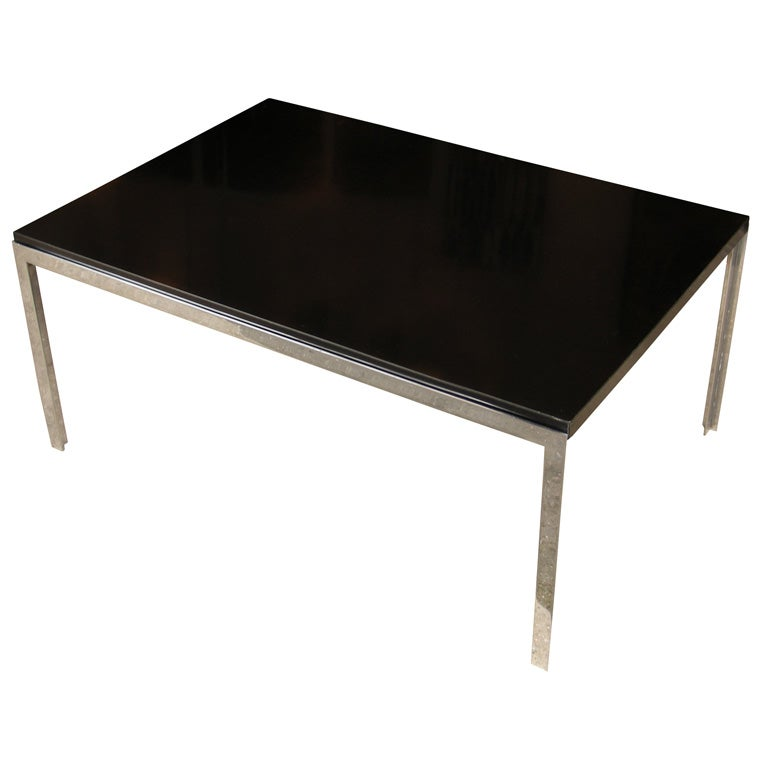 1953 1967 t angle coffee table by florence knoll for Florence knoll coffee table