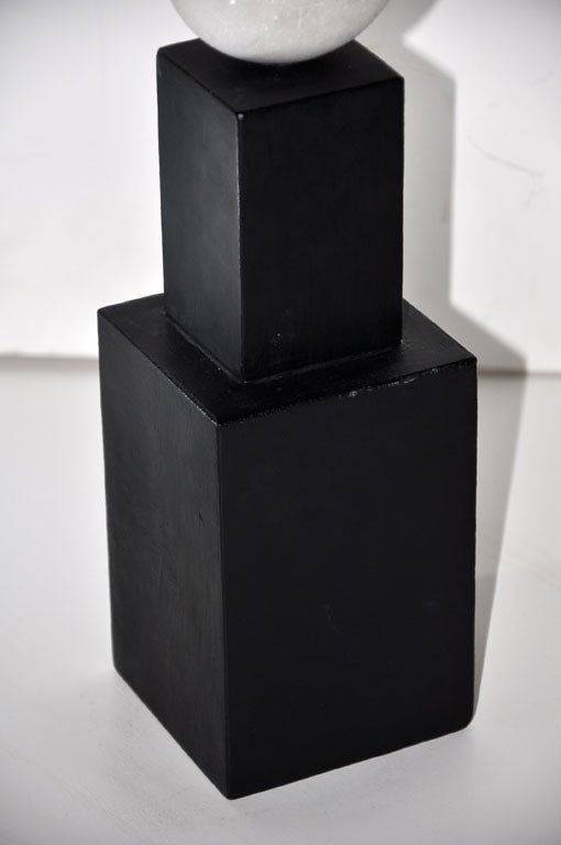 Marble Abstract Sculpture by Toshiharu Kitagawa For Sale