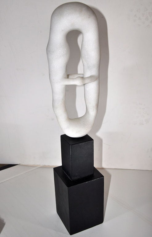 Japanese Abstract Sculpture by Toshiharu Kitagawa For Sale