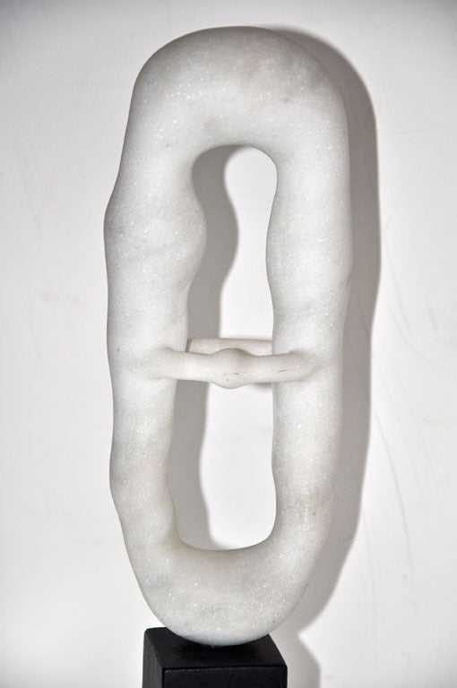 Toshiharu Kitagawa marble abstract sculpture