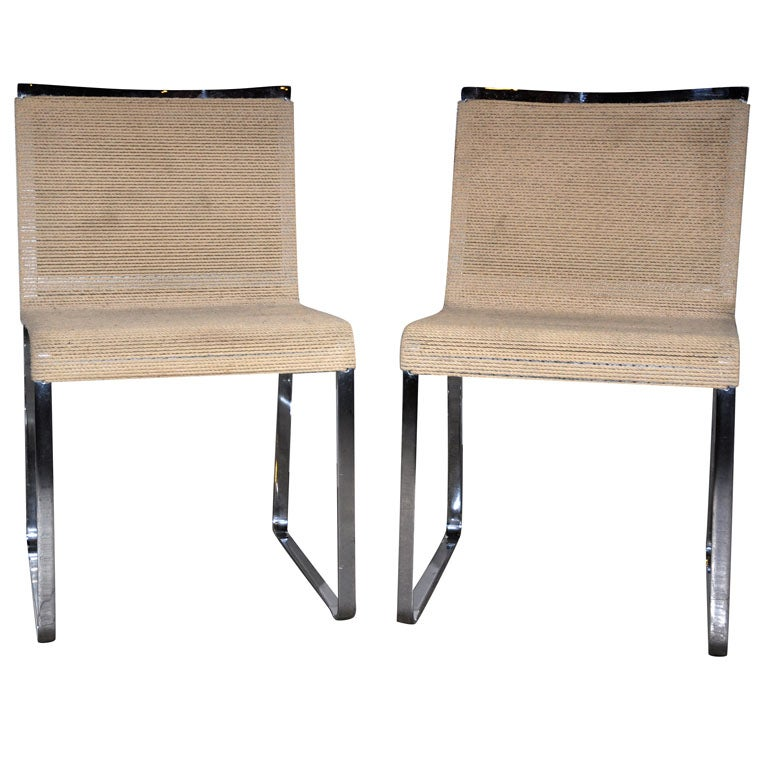 Pair of Chairs by Van Keppel Green