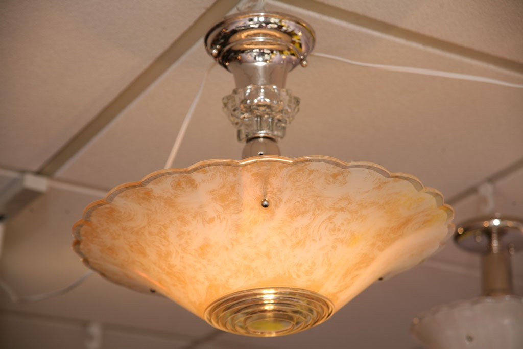 French Petite Chandelier Glass is Like Fortuny Fabric 2