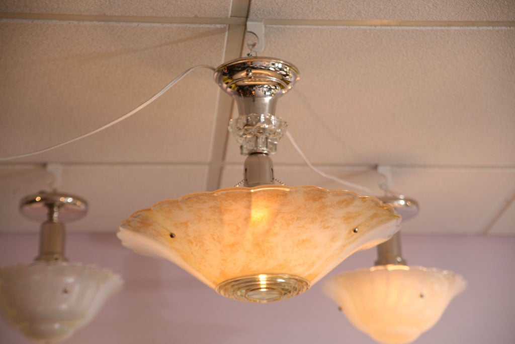 French Petite Chandelier Glass is Like Fortuny Fabric 3