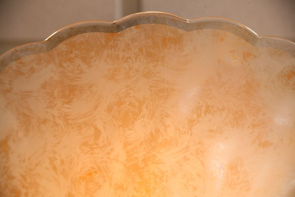 French Petite Chandelier Glass is Like Fortuny Fabric 6