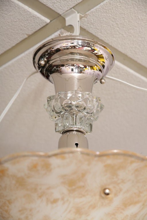French Petite Chandelier Glass is Like Fortuny Fabric 7