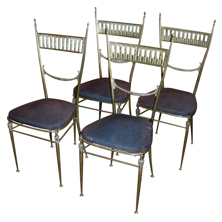 Beautiful French Dining Room Set By Metz