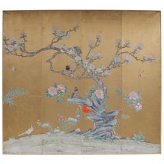 Large End of 19th Century Japanese Panel