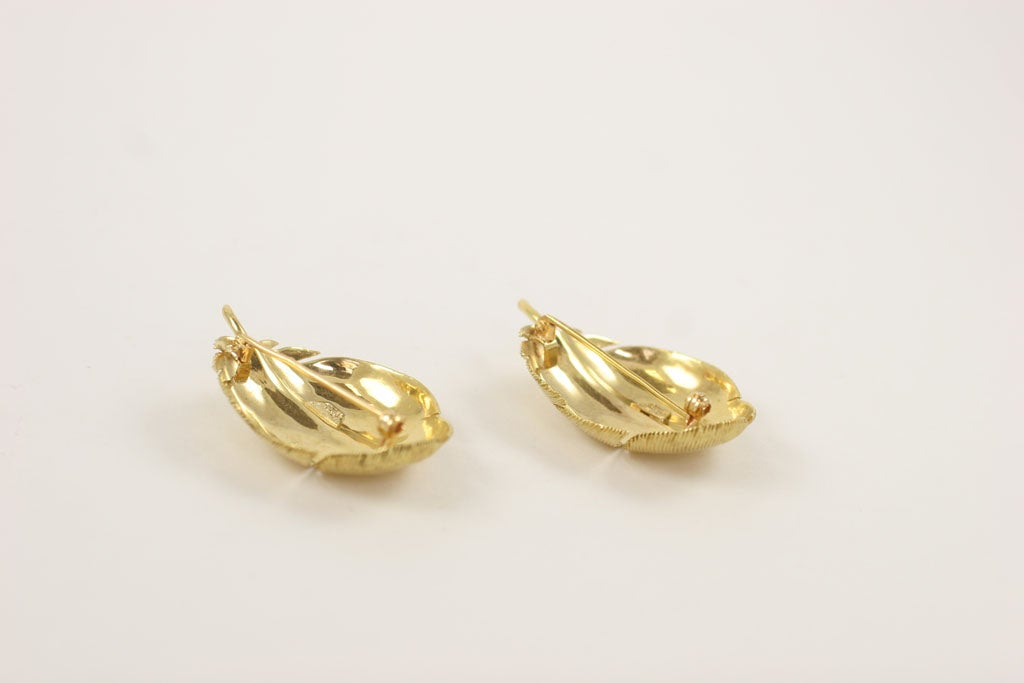 Matched TIFFANY & CO. Feather Brooches 8
