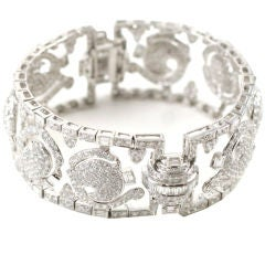 Floral Diamond Bracelet