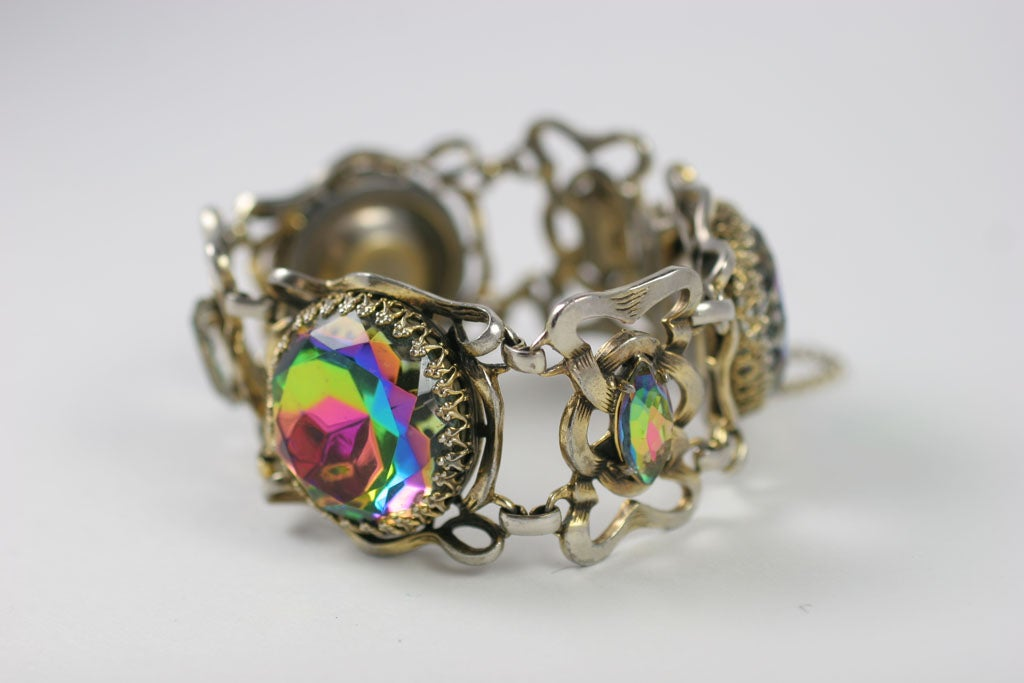 Women's Large Schiaparelli Bracelet, Costume Jewelry
