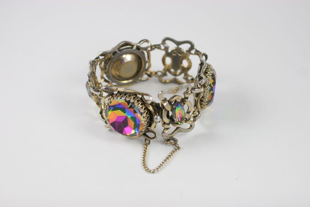 Large Schiaparelli Bracelet, Costume Jewelry 1