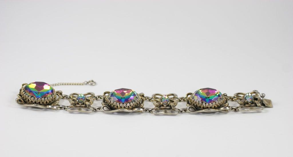 Large Schiaparelli Bracelet, Costume Jewelry 3