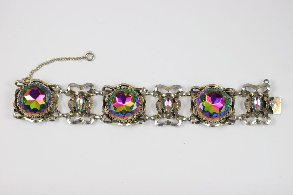 Large Schiaparelli Bracelet, Costume Jewelry 4
