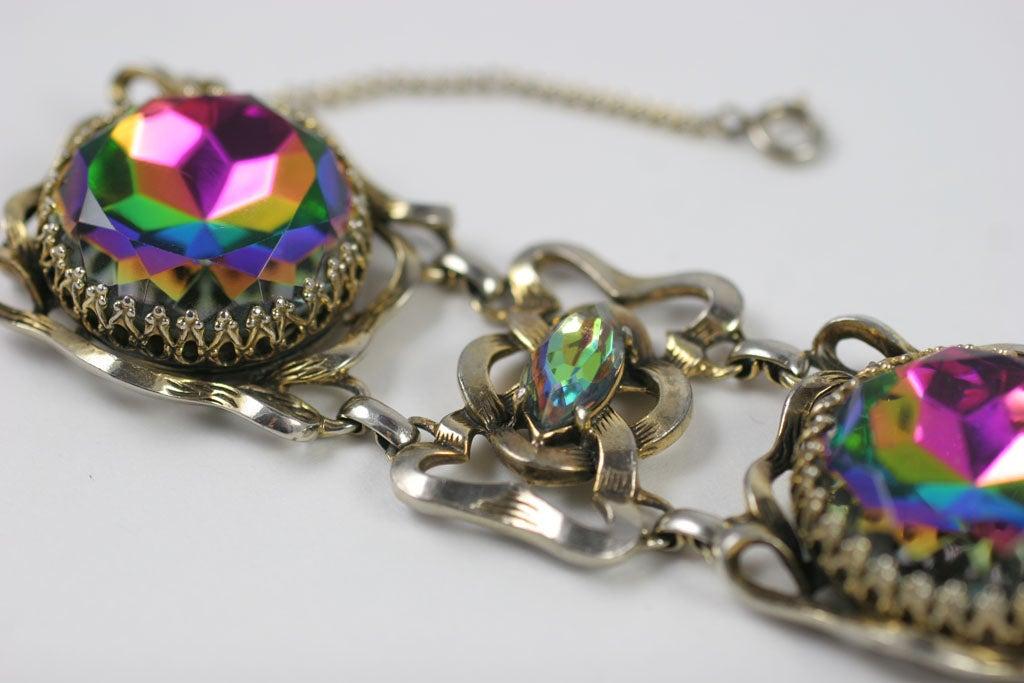 Large Schiaparelli Bracelet, Costume Jewelry 5
