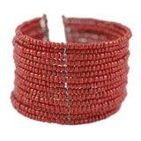 Tibetan Red Coral Bracelet
