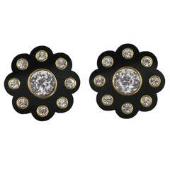 Spectacular Chanel Daisy Earrings