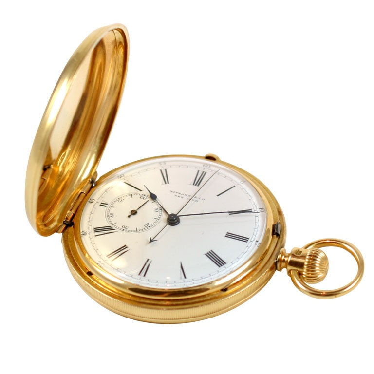 Tiffany And Co Antique Pulse Rate Pocketwatch At 1stdibs