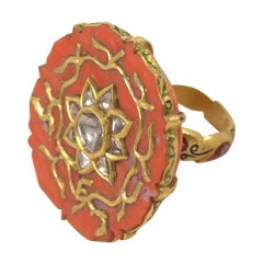 Coral Sun Ring