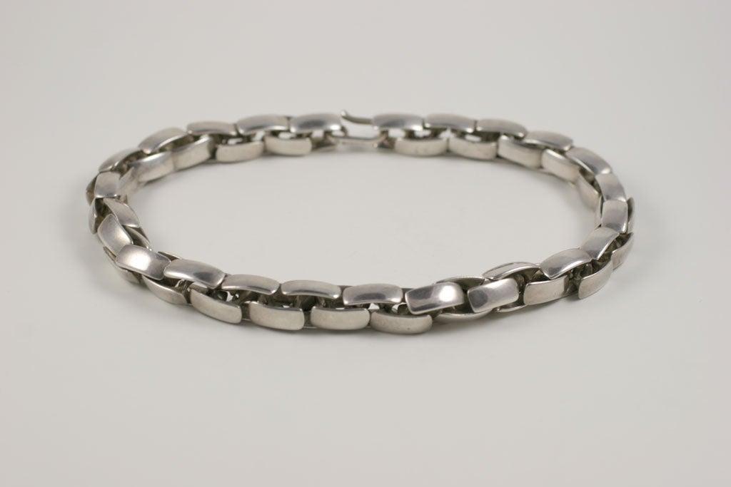 Substantial Robert Lee Morris Sterling Silver Collar 4