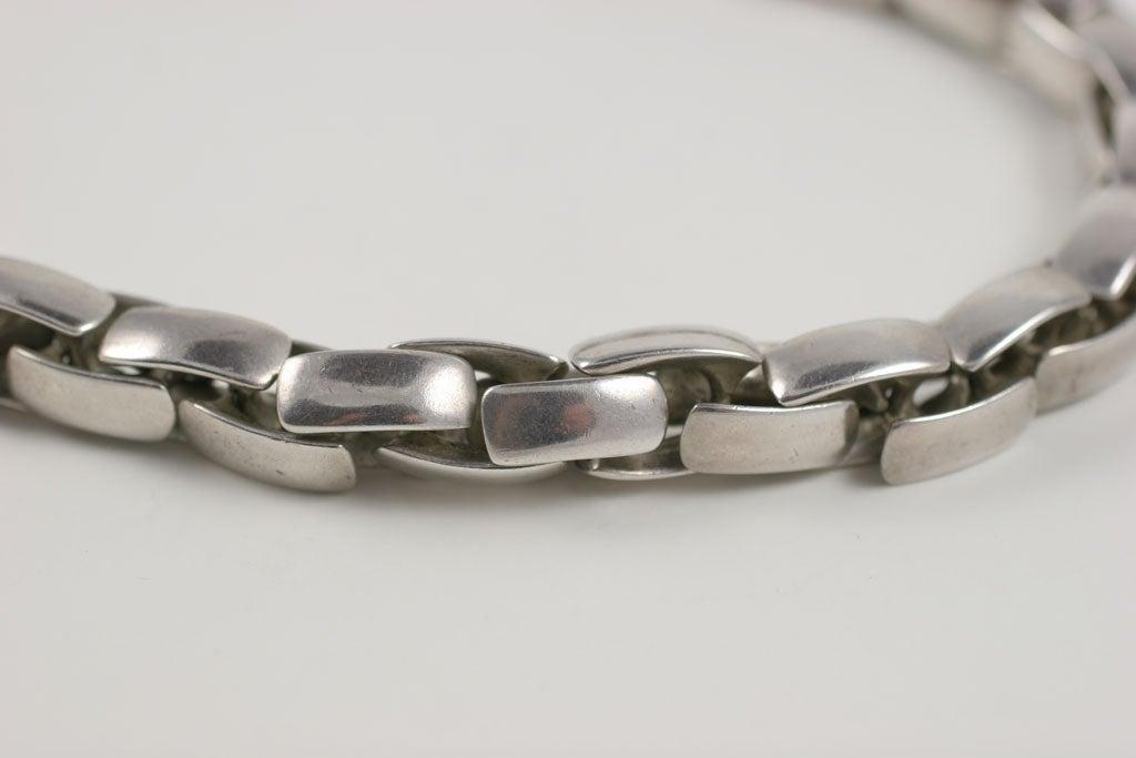 Substantial Robert Lee Morris Sterling Silver Collar 6