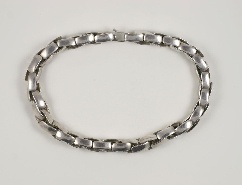 Substantial Robert Lee Morris Sterling Silver Collar 3