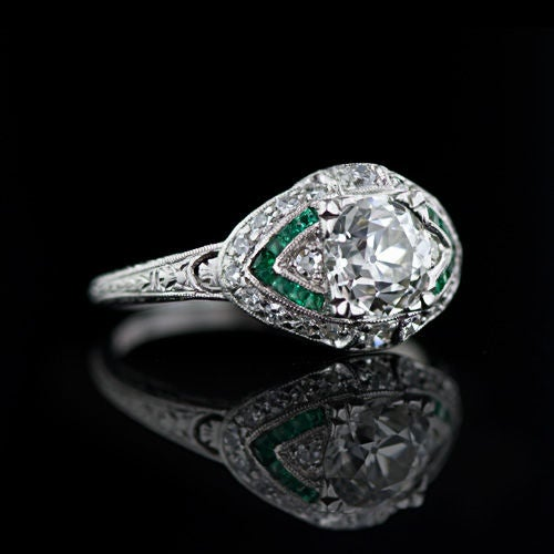 Art Deco 111 Carat Diamond And Emerald Engagement Ring At. Expensive Diamond Wedding Rings. Tiger Eye Rings. Jade Wedding Rings. Golden Coin Necklace. Channel Set Engagement Rings. Rectangular Cut Engagement Rings. Big Watches. Price Emerald