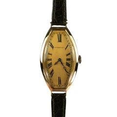 Rare Tiffany & Co. 18k  1930's Watch
