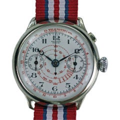 Record Genève One Button Chronograph