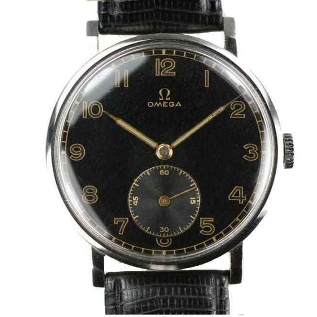 Vintage omega dress watch at 1stdibs for Omega watch vintage