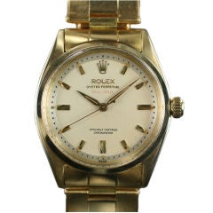 Rolex Oyster Perpetual Chronometer 18k