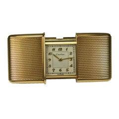 Movado for Cartier Travel Clock