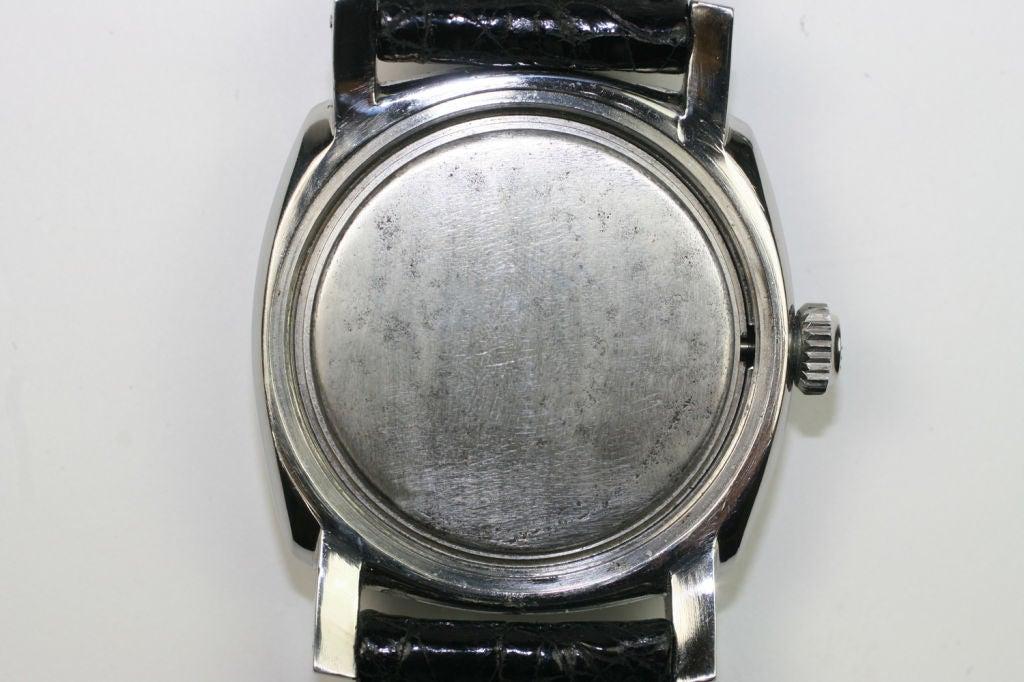 Vintage Panerai Marina Militare made by Rolex circa 1950s For Sale 6
