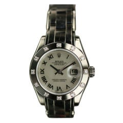 Rolex Oyster Perpetual Lady-Datejust  Pearlmaster Ref #80319
