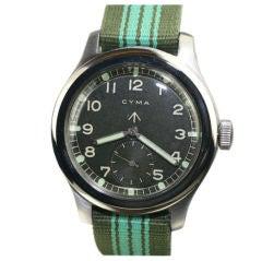 Cyma Broad Arrow British Militay Watch