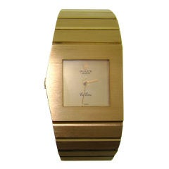 1970's 'King Midas' New Condition 18K Yellow Gold Rolex Cellini
